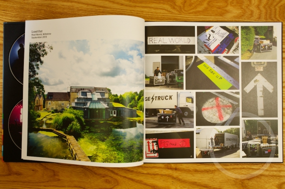 European 'Back to Front' book Photographed by York Tillyer