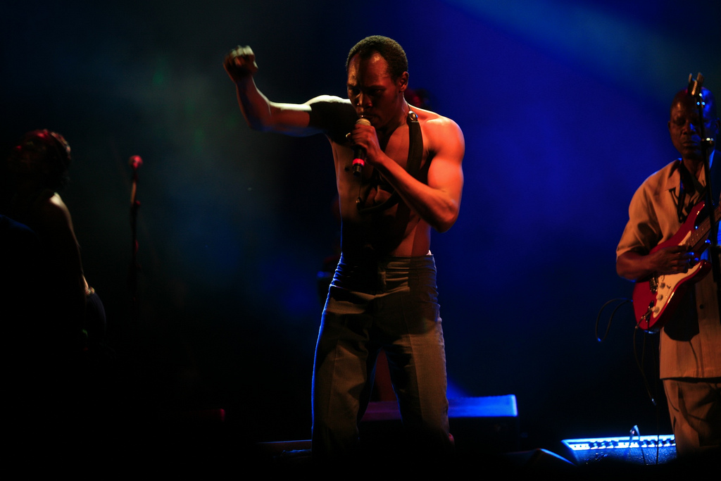 Seun Kuti - an anti-establishment kind of person